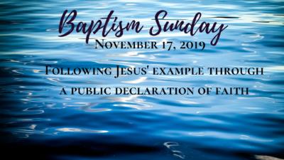 Baptism Sunday @ Life Community Church